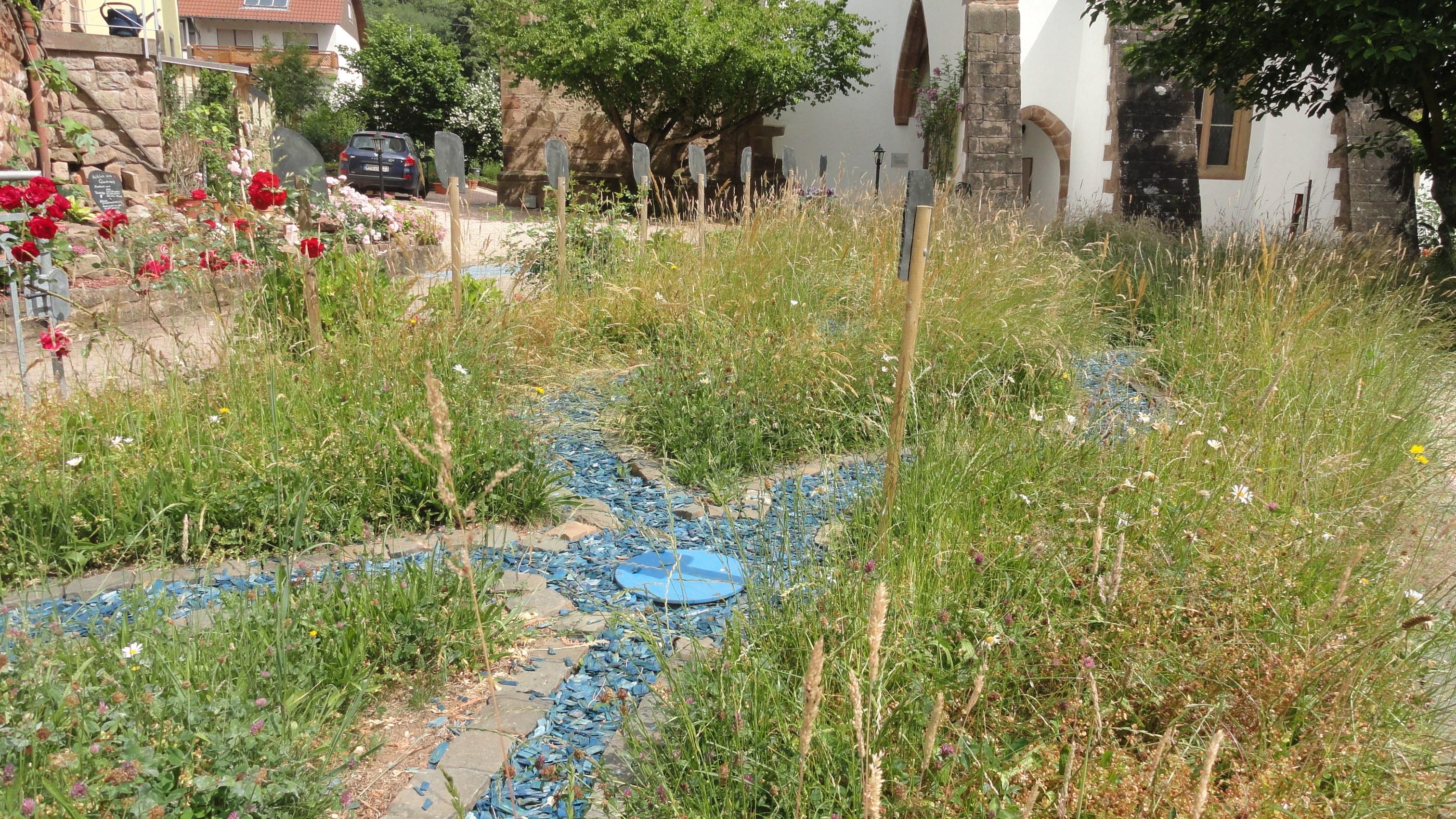 Vier Flüsse biblischer Garten Niederkirchen © Cora Berger