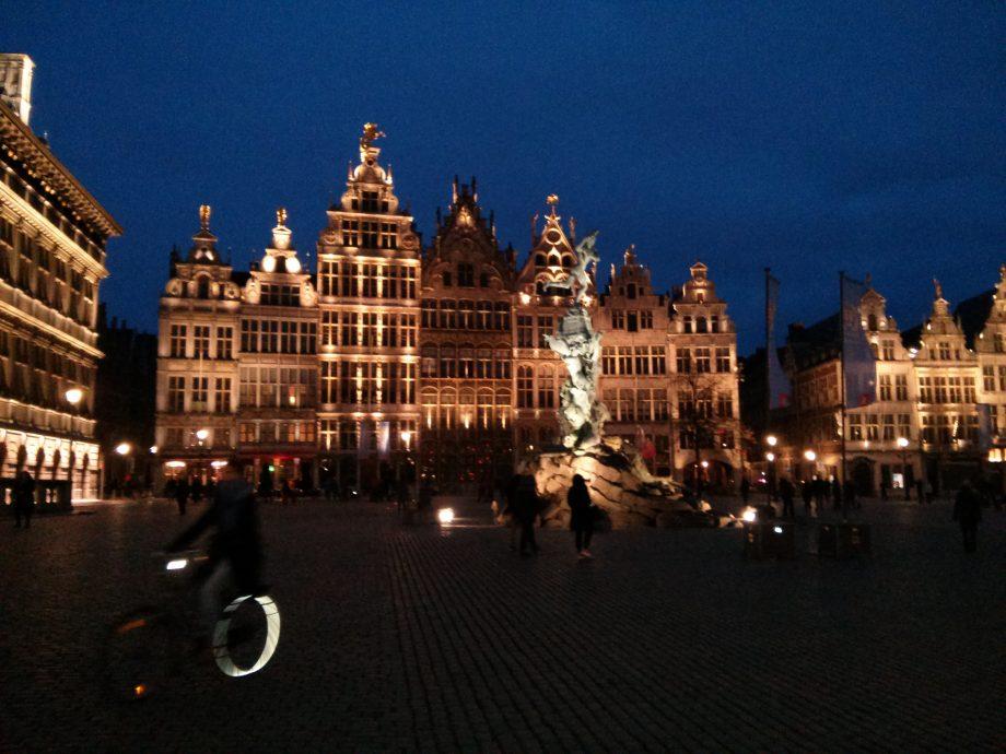 Die Gildehäuser am Großen Markt