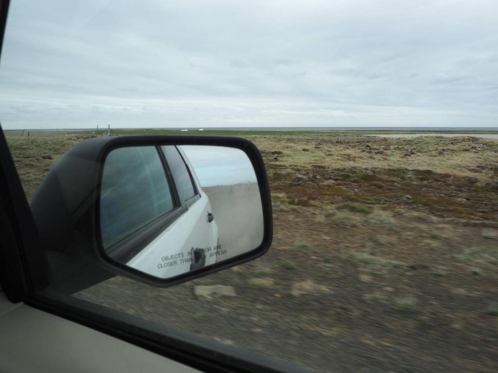 Erste Schotterstraße auf Island © Cora Berger