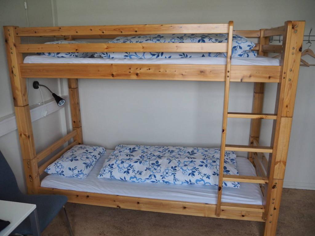 Stockbett im Hostel Ljisofoss © Cora Berger