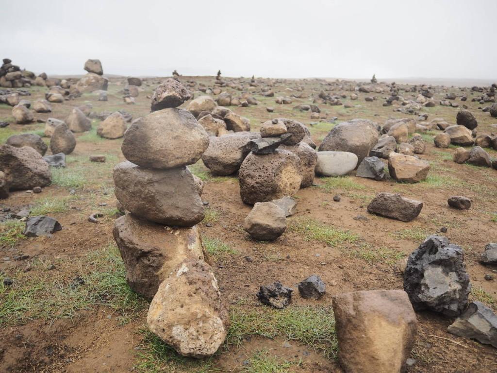Steinmännchen im Thingvellir Nationalpark © Cora Berger