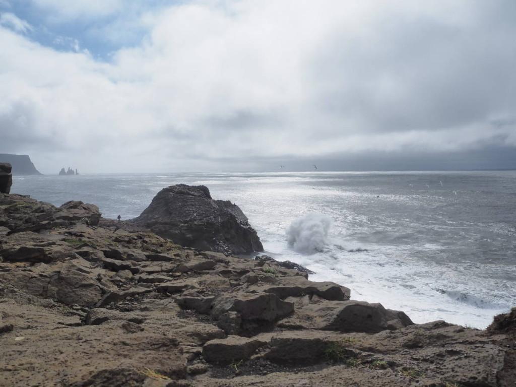 Wildes Meer am Kap Dyrhólaey © Cora Berger