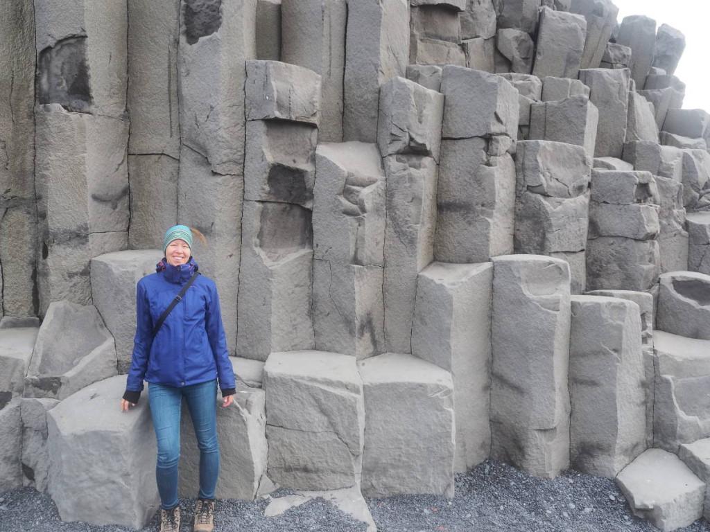 Basaltsäulen Reynisfjara © Markus Backes