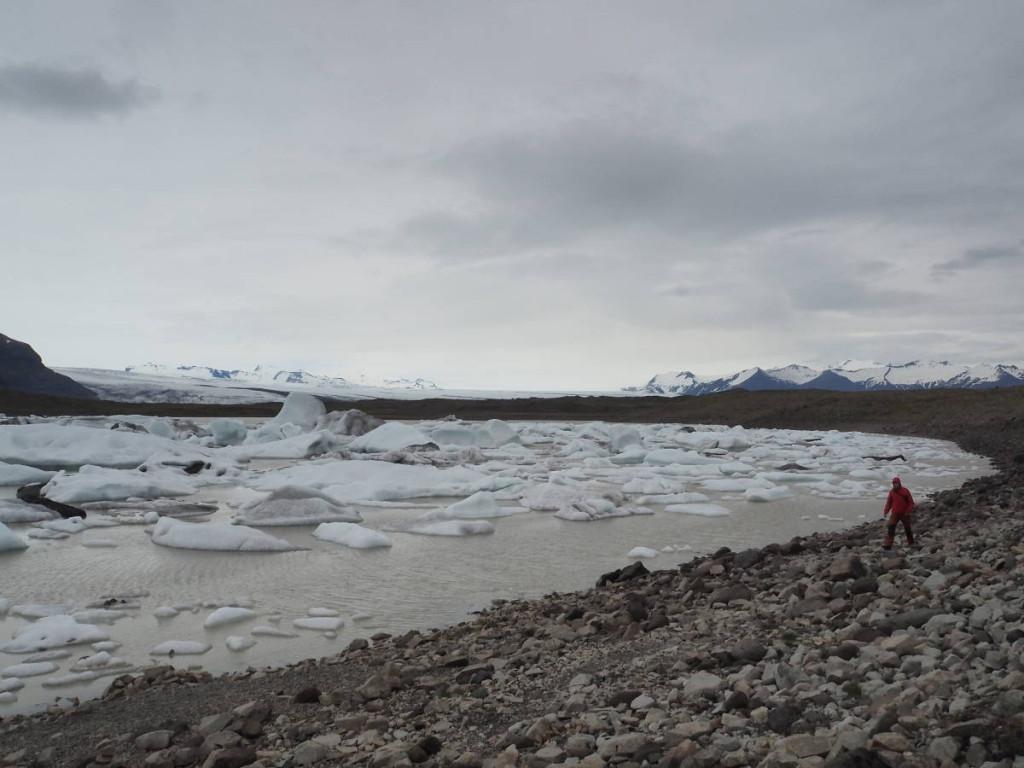 Fjallsarlón Gletscherlagune © Cora Berger
