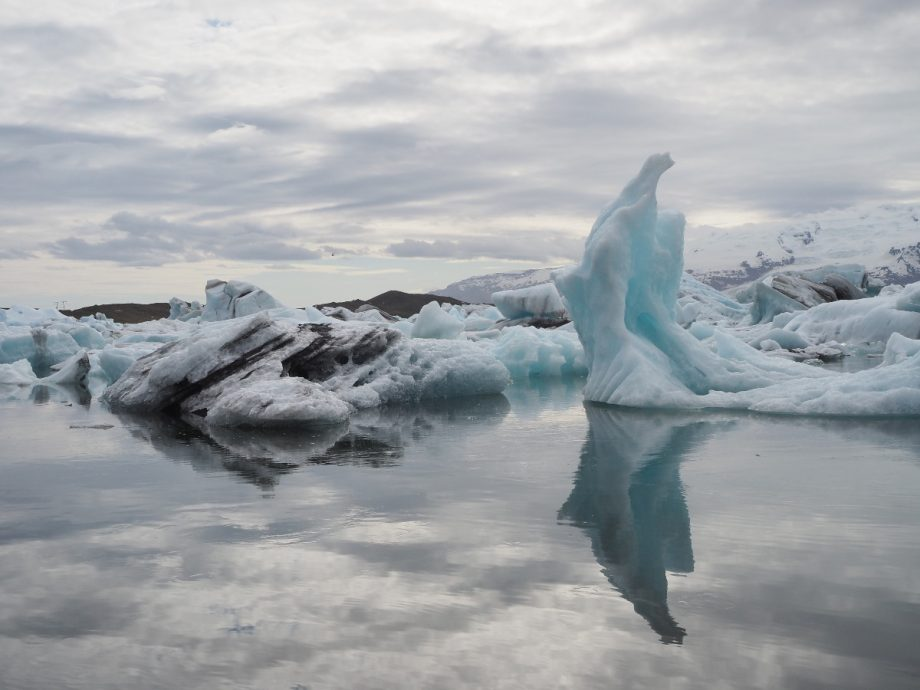 Eisformationen im Jökulsárlón