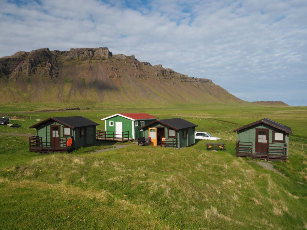 Hütten am Vagnsstaðir © Cora Berger