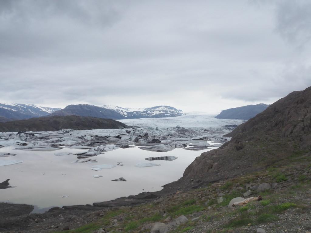 Gletscherlagune Hoffellsjökull © Cora Berger