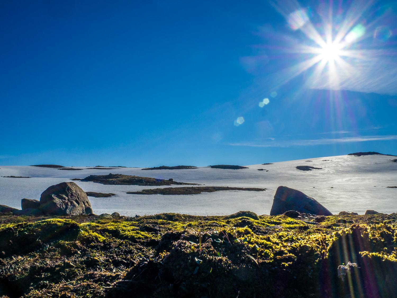 Schneelandschaft Höhe Seydisfjördur © Markus Backes