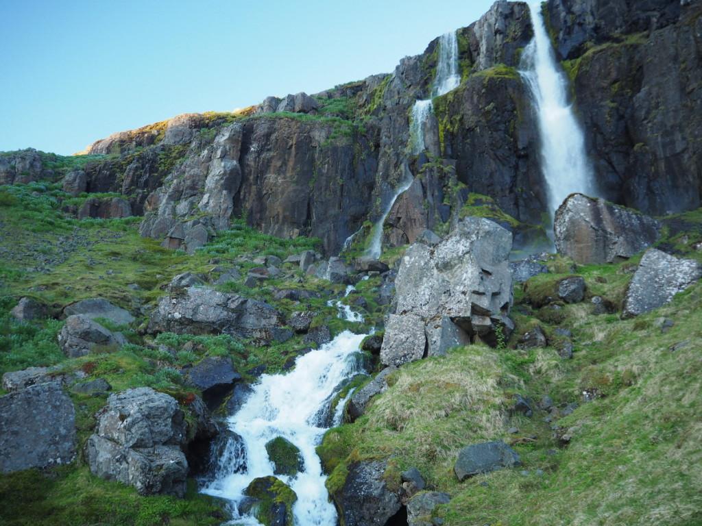 Wasserfall in Seydisfjördur © Markus Backes