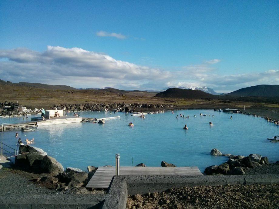 Mývatn Nature Baths von außen