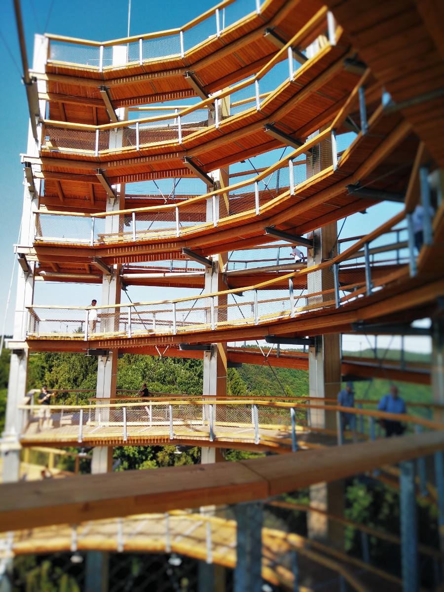 Turm Baumwipfelpfad Saarschleife © Cora Berger