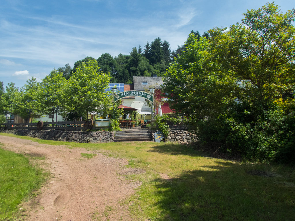 Gasthaus Alte Mühle bei Noswendel © Cora Berger