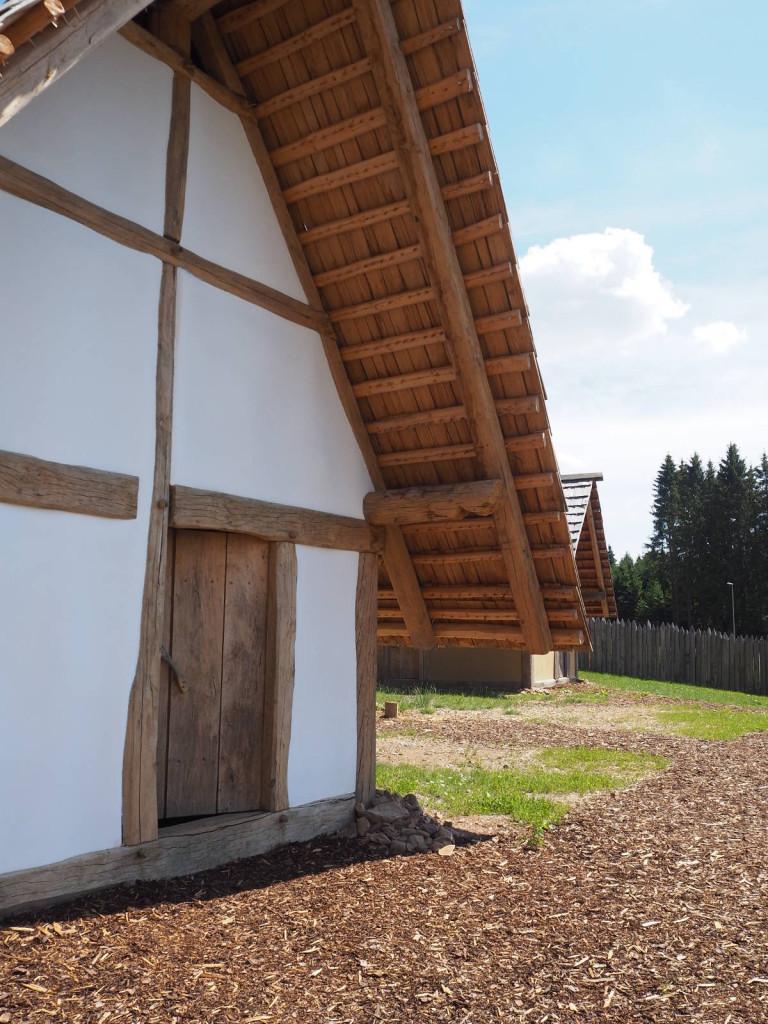 Detailansicht Haus Keltenpark Otzenhausen © Cora Berger