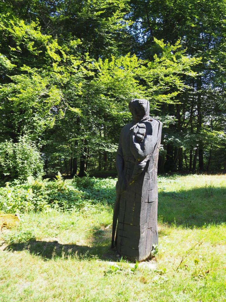 Skulptur Keltischer Skulpturenweg Ringwall © Cora Berger