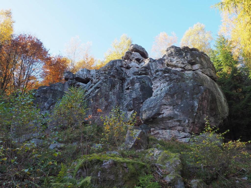 Teufelsfelsen bei Waldhölzbach © Cora Berger