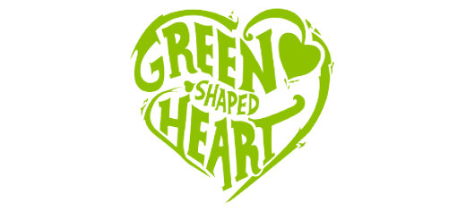 Green Shaped Heart