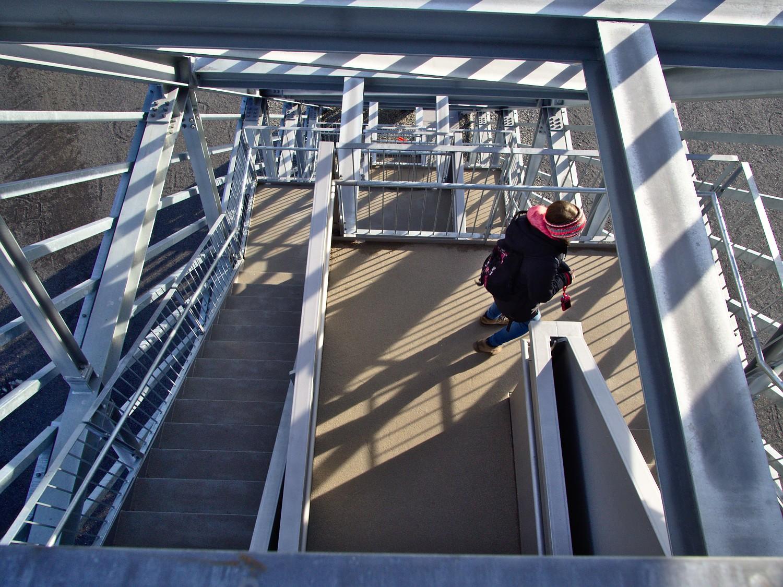 Cora Treppe im Saar-Polygon bei Ensdorf © Markus Backes