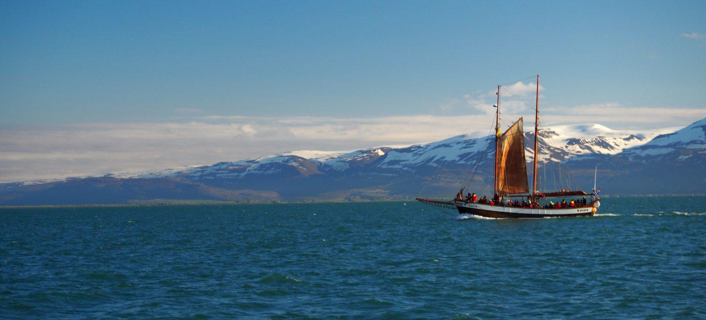 Whale Watching Ship at Húsavík © Markus Backes