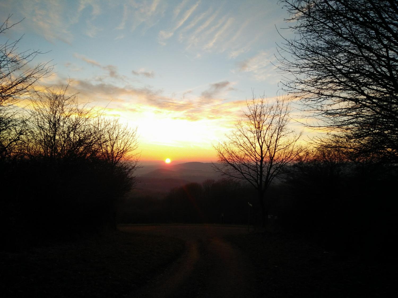 Sonnenuntergang Schaumberg © Cora Berger