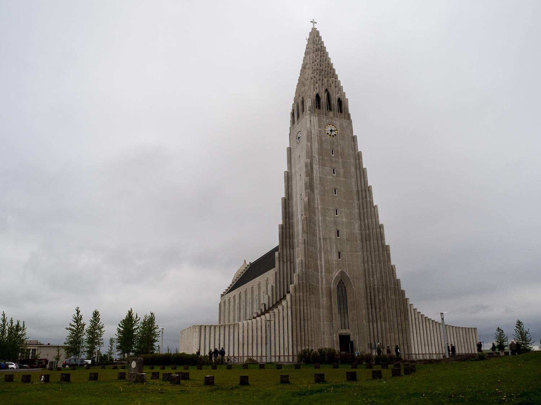 Hallgrimskirkja Reykjavik © Cora Berger | greenshapedheart.de