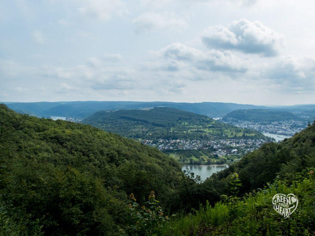 Vierseenblick am Mittelrhein-Klettersteig © Cora Berger | greenshapedheart.de