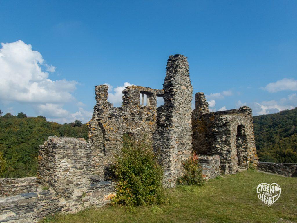 Ruine der Schmidtburg im Hahnenbachtal © Cora Berger | greenshapedheart.de