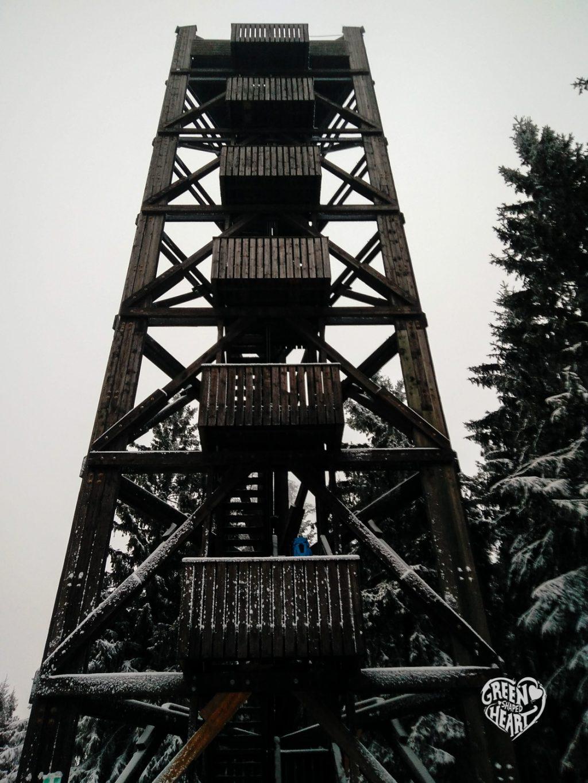 Aussichtsturm Idarkopf im Winter © Cora Berger