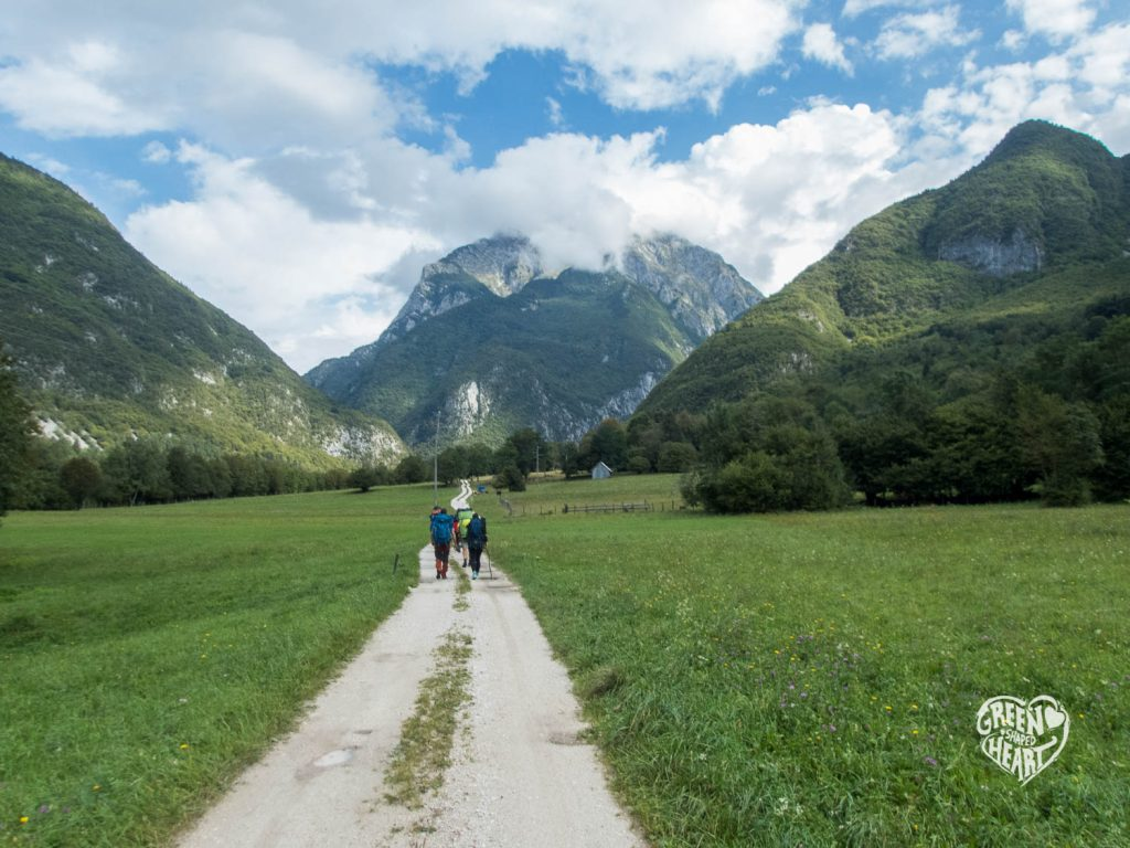 Alpe Adria Trail an der Soca © Cora Berger | Green Shaped Heart